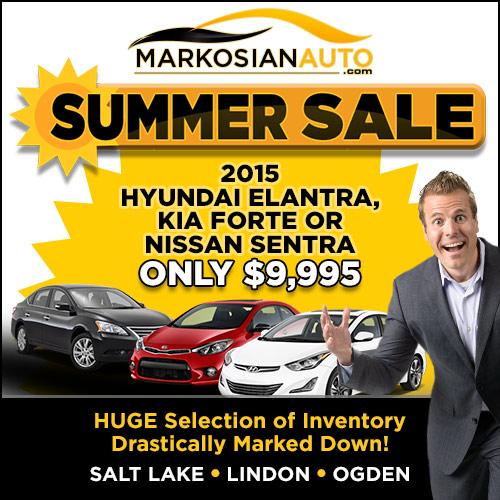 Markosian Auto Summer Sale
